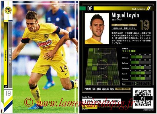 Panini Football League 2013 - PFL02 - N° 123 - Miguel Layun ( Club America )