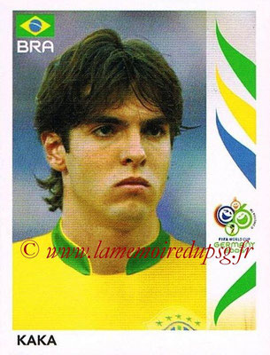 2006 - Panini FIFA World Cup Germany Stickers - N° 392 - KAKA (Brésil)