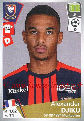 2017-18 - Panini Ligue 1 Stickers - N° 081 - Alexander DJIKU (Caen)