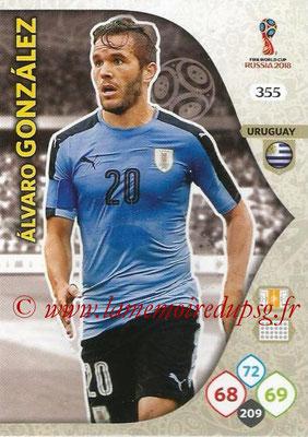2018 - Panini FIFA World Cup Russia Adrenalyn XL - N° 355 - Alvaro GONZALEZ (Uruguay)