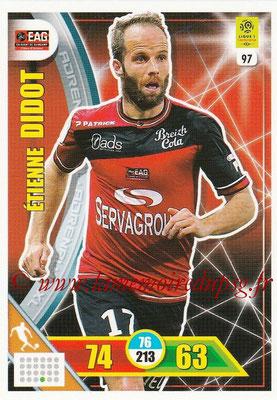2017-18 - Panini Adrenalyn XL Ligue 1 - N° 097 - Etienne DIDOT (Guingamp)