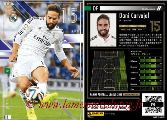 Panini Football League 2015 - PFL09 - N° 046 - Dani CARVAJAL (Real Madrid) (Star)