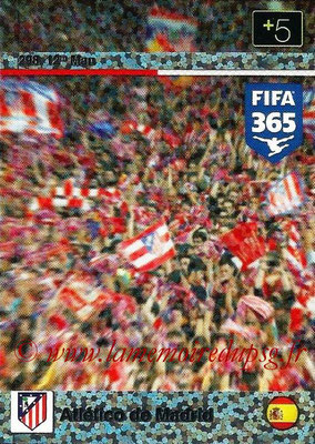 2015-16 - Panini Adrenalyn XL FIFA 365 - N° 298 - Atletico de Madrid (12th Man)