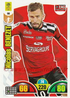 2018-19 - Panini Adrenalyn XL Ligue 1 - N° 098 - Nicolas BENEZET (Guingamp)