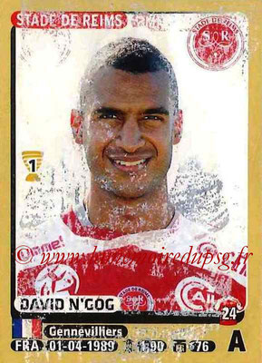 2015-16 - Panini Ligue 1 Stickers - N° 381- David N'GOG (Stade de Reims)