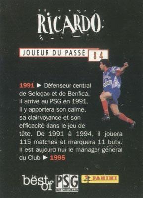 N° 084 - RICARDO (Verso)