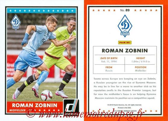 2015 - Panini Donruss Soccer - N° 089 - Roman ZOBNIN (Dynamo Moscou)