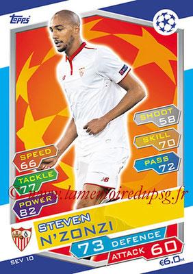 2016-17 - Topps UEFA Champions League Match Attax - N° SEV10 - Steven N'ZONZI ( FC Seville )