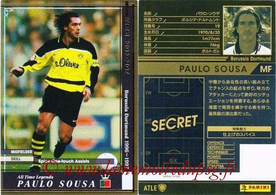 2013-14 - WCCF - N° ATLE06 - Paulo SOUSA (Borussia DORTMUND) (All Time Legend)