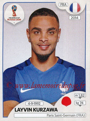 2018 - Panini FIFA World Cup Russia Stickers - N° 199 - Layvin KURZAWA (France)