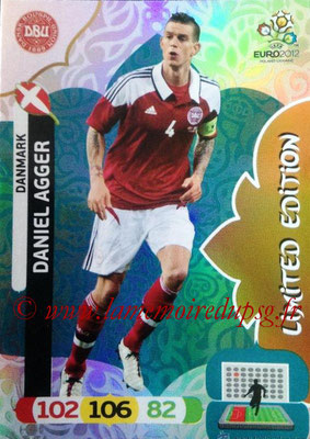 Panini Euro 2012 Cards Adrenalyn XL - N° LE05 - Daniel AGGER (Danemark) (Limited Edition)