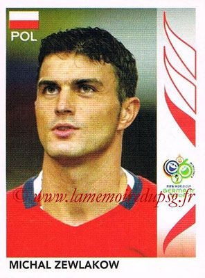 2006 - Panini FIFA World Cup Germany Stickers - N° 062 - Michal ZEWLAKOW (Pologne)
