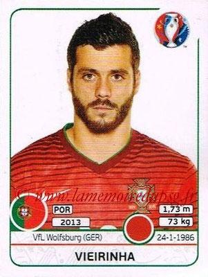 Panini Euro 2016 Stickers - N° 584 - VIEIRINHA (Portugal)