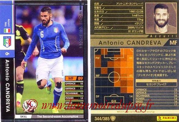 2013-14 - WCCF - N° 344 - Antonio CANDREVA (Italie)