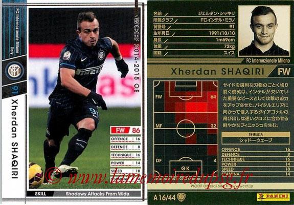 2013-14 - WCCF - N° A16 - Xherdan SHAQIRI (FC Inter Milan)