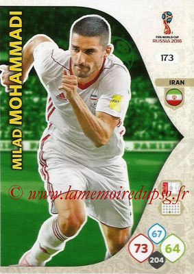 2018 - Panini FIFA World Cup Russia Adrenalyn XL - N° 173 - Sardar AZMOUN (Iran)