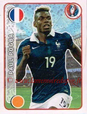 Panini Euro 2016 Stickers - N° 037 - Paul POGBA (France)