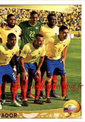 Panini Copa America Centenario USA 2016 Stickers - N° 136 - Equipe Equateur 2