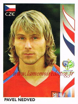 2006 - Panini FIFA World Cup Germany Stickers - N° 368 - Pavel NEDVED (République Tchèque)
