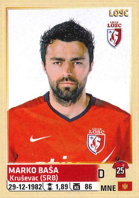2014-15 - Panini Ligue 1 Stickers - N° 150 - Marko BASA (Lille OSC)