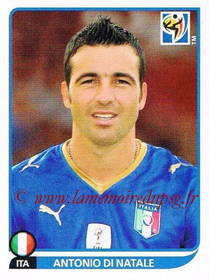 2010 - Panini FIFA World Cup South Africa Stickers - N° 425 - Antonio DI NATALE (Italie)