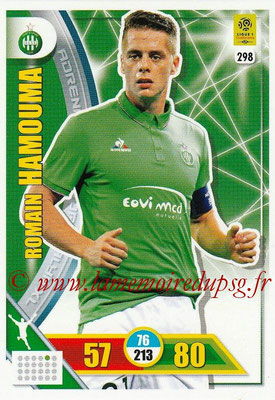 2017-18 - Panini Adrenalyn XL Ligue 1 - N° 298 - Romain HAMOUMA (Saint-Etienne)