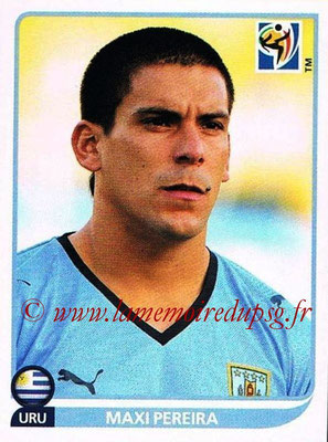 2010 - Panini FIFA World Cup South Africa Stickers - N° 073 - Maxi PEREIRA (Uruguay)