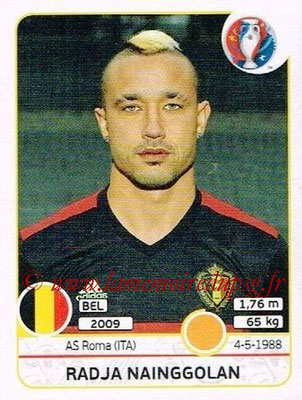 Panini Euro 2016 Stickers - N° 473 - Radja NAINGGOLAN (Belgique)