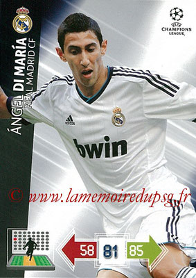 2012-13 - Adrenalyn XL champions League N° 226 - Angel DI  MARIA (Real Madrid CF)