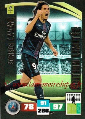 2016-17 - Panini Adrenalyn XL Ligue 1 - N° LE-EC - Edinson CAVANI (Paris Saint-Germain) (Edition Limitée)
