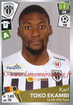 2017-18 - Panini Ligue 1 Stickers - N° 045 - Karl TOKO EKAMBI (Angers)