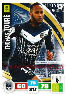 2016-17 - Panini Adrenalyn XL Ligue 1 - N° 054 - Thomas TOURE (Bordeaux)
