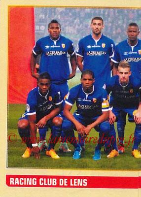 2014-15 - Panini Ligue 1 Stickers - N° 122 - Équipe RC Lens