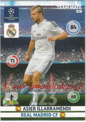2014-15 - Adrenalyn XL champions League N° 212 - Asier ILLARRAMENDI (Real Madrid CF)
