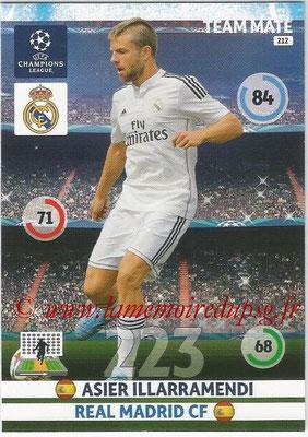2014-15 - Adrenalyn XL champions League N° 212 - Asier ILLARRAMENDI (Real Madrid CF)