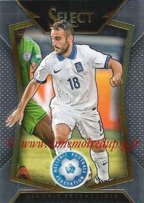 2015 - Panini Select Soccer - N° 054 - Giannis FETFATZIDIS (Grèce)