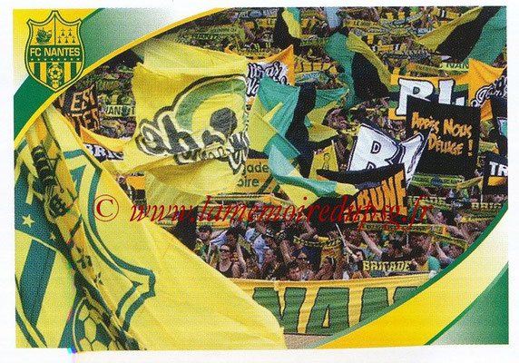 2018-19 - Panini Ligue 1 Stickers - N° 298 - Supporters Nantes