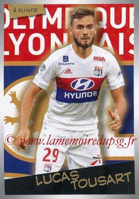 2017-18 - Panini Ligue 1 Stickers - N° 206 - Lucas TOUSART (Lyon) (A suivre)