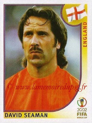 2002 - Panini FIFA World Cup Stickers - N° 423 - David SEAMAN (Angleterre)