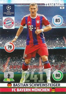 2014-15 - Adrenalyn XL champions League N° 095 - Bastian SCHWEINSTEIGER (Bayern Munich)