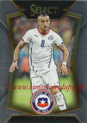 2015 - Panini Select Soccer - N° 004 - Arturo VIDAL (Chili)