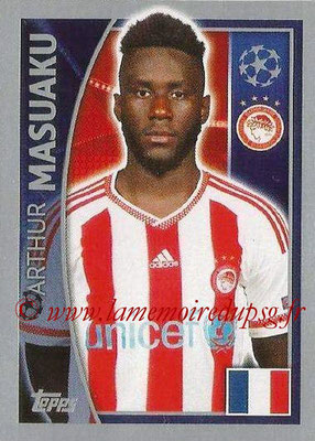 2015-16 - Topps UEFA Champions League Stickers - N° 410 - Arthur MASUAKU (Olympiacos FC)