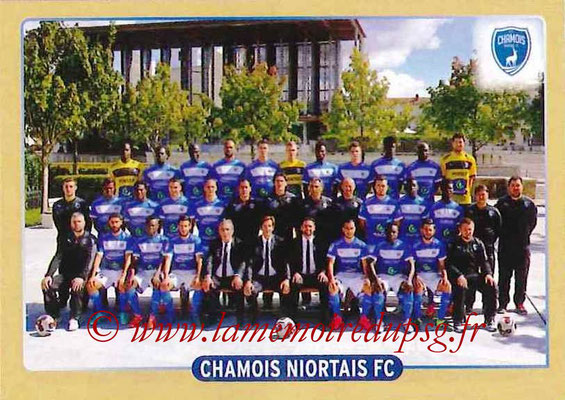 2015-16 - Panini Ligue 1 Stickers - N° 510 - Equipe Chamois Niortais