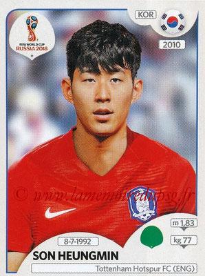 2018 - Panini FIFA World Cup Russia Stickers - N° 508 - Son HEUNGMIN (Corée du Sud)