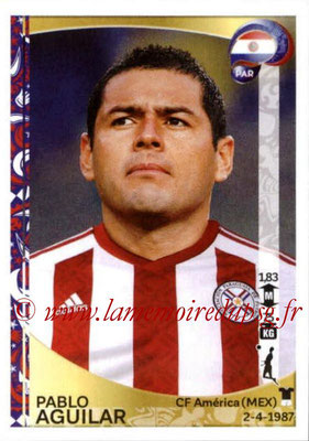 Panini Copa America Centenario USA 2016 Stickers - N° 093 - Pablo AGUILAR (Paraguay)