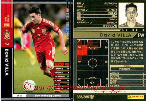 2013-14 - WCCF - N° 385 - David VILLA (Espagne)