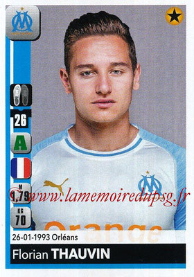 2018-19 - Panini Ligue 1 Stickers - N° 221 - Florian THAUVIN (Marseille)