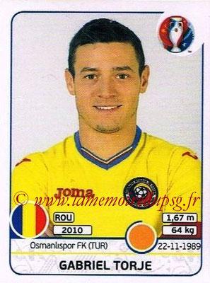 Panini Euro 2016 Stickers - N° 063 - Gabriel TORJE (Roumanie)