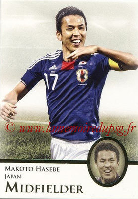 2013 - Futera World Football Unique - N° 039 - Makoto HASEBE (Japon) (Midfielder)