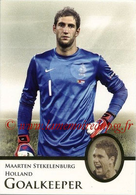 2013 - Futera World Football Unique - N° 005 - Maarten STEKELENBURG (Pays-Bas) (Goalkeeper)